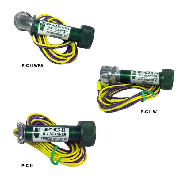 Protection Controls P-C II UV Scanners