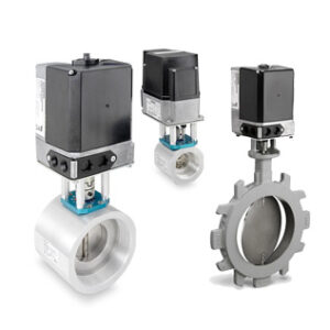 Siemens VA Assembly with VKG and VKF1x valves