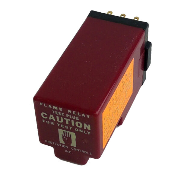 Protection Controls Flame Relay Test Plug