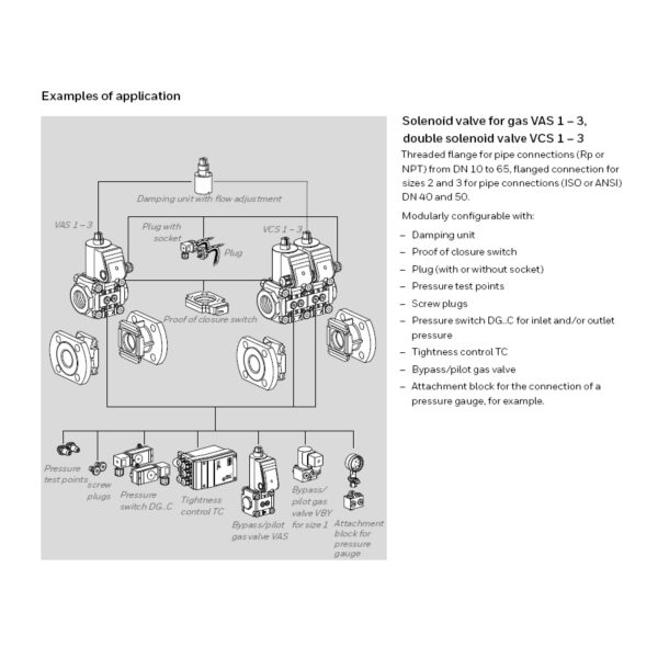 Kromschroder VAS Modular Components