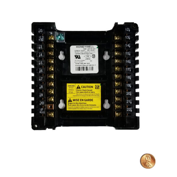 Honeywell Q7800A1005 Wiring Subbase Panel Mount