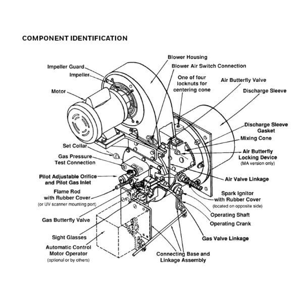 Maxon Ovenpak 400 Series Burner Components
