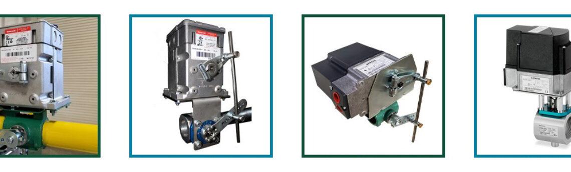 Industrial Actuator Control Valve Assemblies